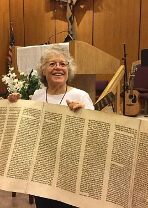 Temple Beth David of the San Gabriel Valley Jewish Arts and Crafts with Jan Robertson 14