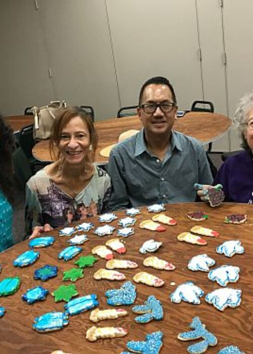 Temple Beth David of the San Gabriel Valley Jewish Arts and Crafts with Jan Robertson 15