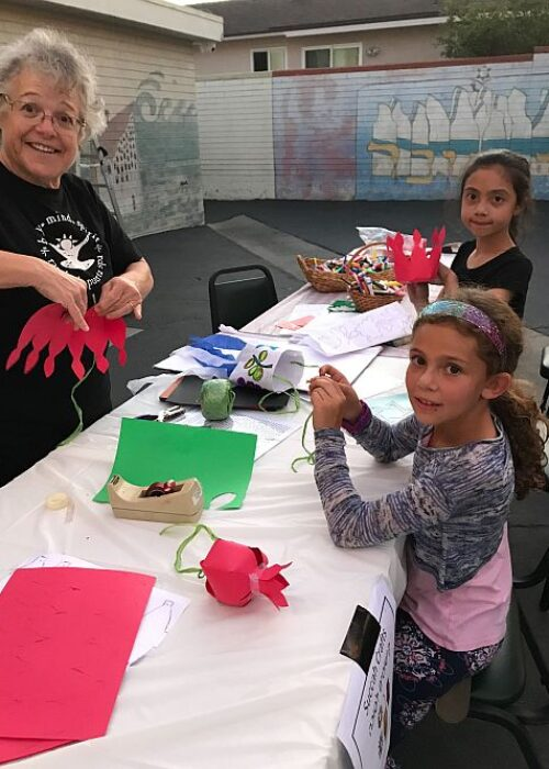 Temple Beth David of the San Gabriel Valley Jewish Arts and Crafts with Jan Robertson 18