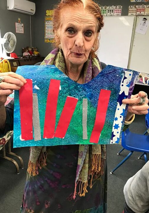 Outreach to Holocaust Survivors at Temple Beth David Symagogue in Temple City California 5