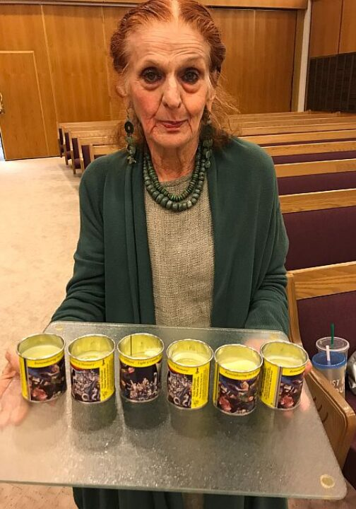 Outreach to Holocaust Survivors at Temple Beth David Symagogue in Temple City California 6