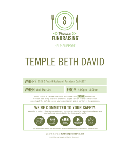Support TBD on 3/3/ from 4-8 p.m.